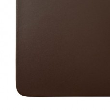 Chocolate Brown Leatherette 34″ x 20″ Desk Mat without Rails