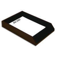 Two-Tone Leather Legal Tray