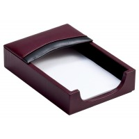 Two-Tone Leather 4″ x 6″ Memo Holder