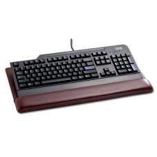 Mocha Leather Keyboard Pad