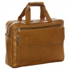 Slim Top-Zip Briefcase