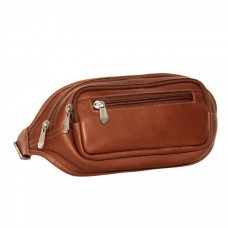 Multi-Zip Oval Waist Bag