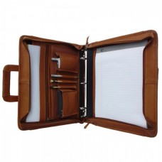 Three-Ring Binder With Handle