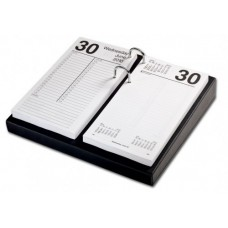 Classic Black 4.5″ x 8″ Calendar Holder with Silver Accents