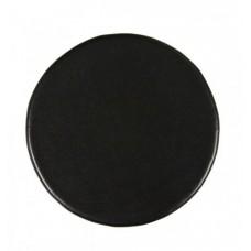 Black Bonded Leather Coaster