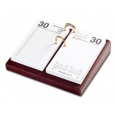 Mocha Leather 3.5″ x 6″ Calendar Holder