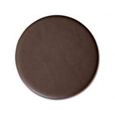 Chocolate Brown Leather Coaster