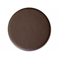 Dark Brown Bonded Leather Coaster