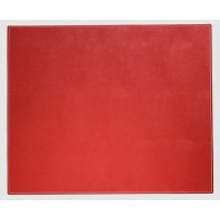 Dacasso Colors Faux Leather 17″ x 14″ Table Mat – Rossa Red