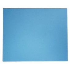 Dacasso Colors Faux Leather 17″ x 14″ Table Mat – Sky Blue