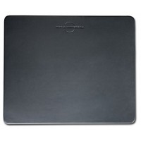 Classic Black Leather 17 x 14 Conference Table Pad