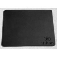Black Leatherette 17″ x 14″ Conference Table Pad