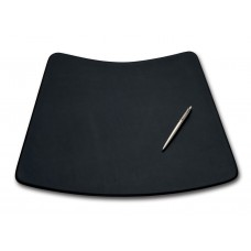 Black Leather 17″ x 14″ Conference Pad for Round Table