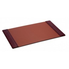 Mocha Leather 34″ x 20″ Side-Rail Desk Pad