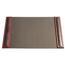 Rosewood & Leather 25.5″ x 17.25″ Side-Rail Desk Pad