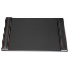 Walnut & Leather 25.5″ x 17.25″ Side-Rail Desk Pad